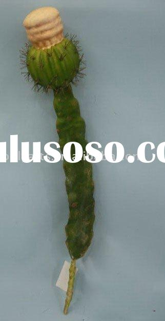decorative artificial plants,artificial cactus ball pick,real touch plant