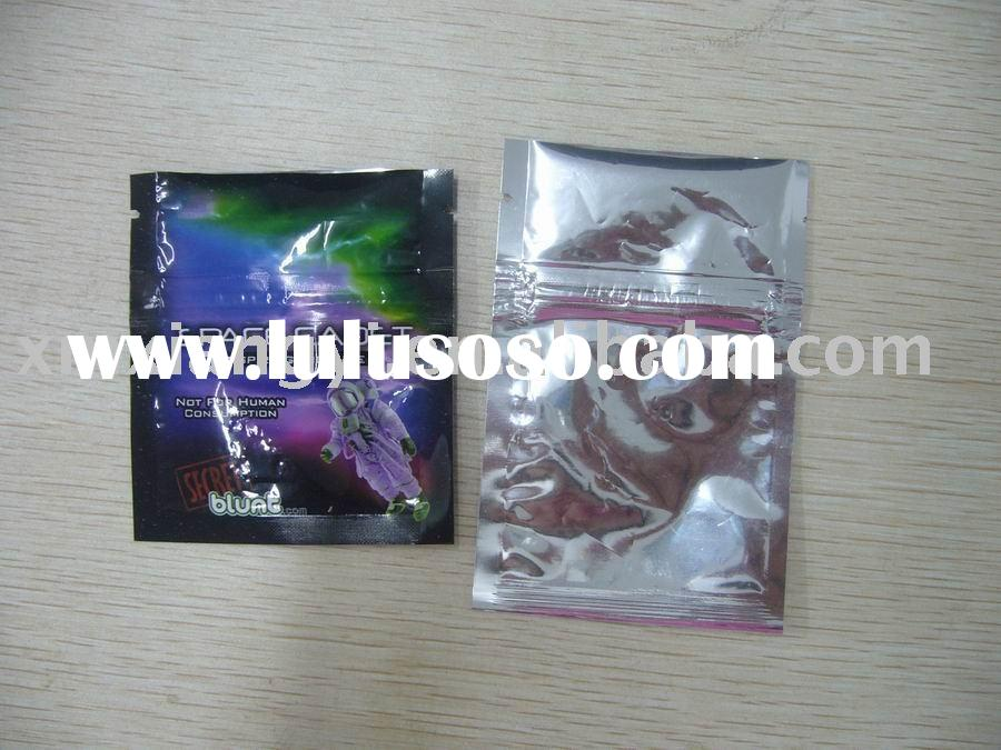 herbal incense aluminum foil bag
