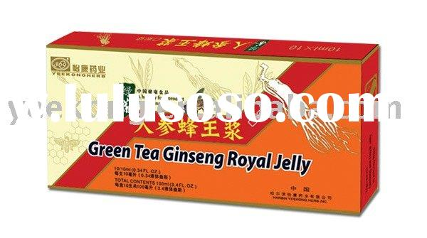 natural health food   -- Ginseng Royal Jelly with Green Tea