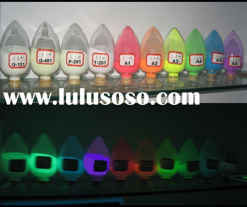 photo luminescent  pigments /powder ,glow in the dark pigment /powder