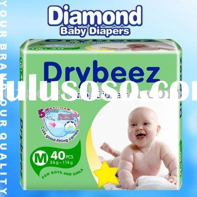 Cheapest Baby Diapers,Nappies in Bales(JHC008)