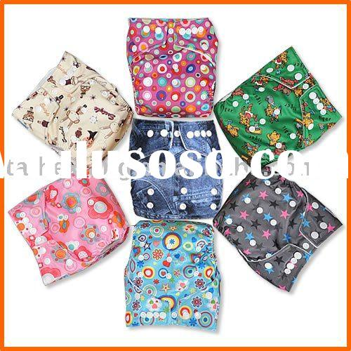 Cute Pattern Baby Cloth Diaper 50pcs ONSALE