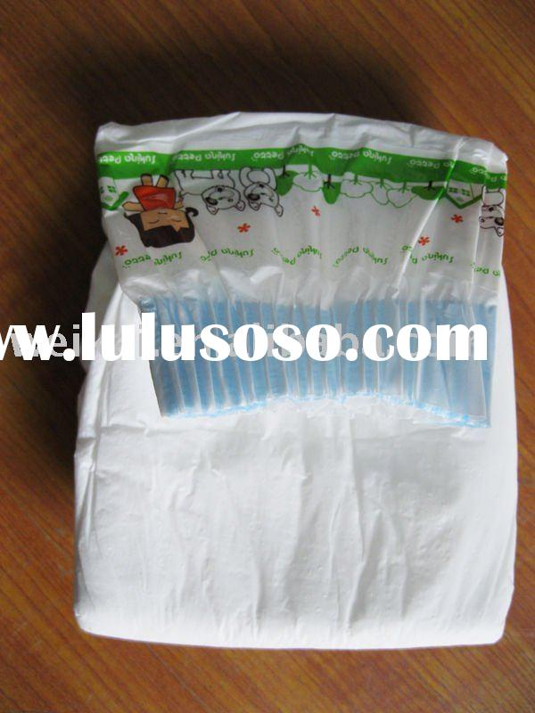 Disposable baby cloth nappies