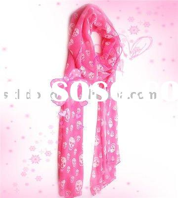 Fashion Pure Pink Scarf
