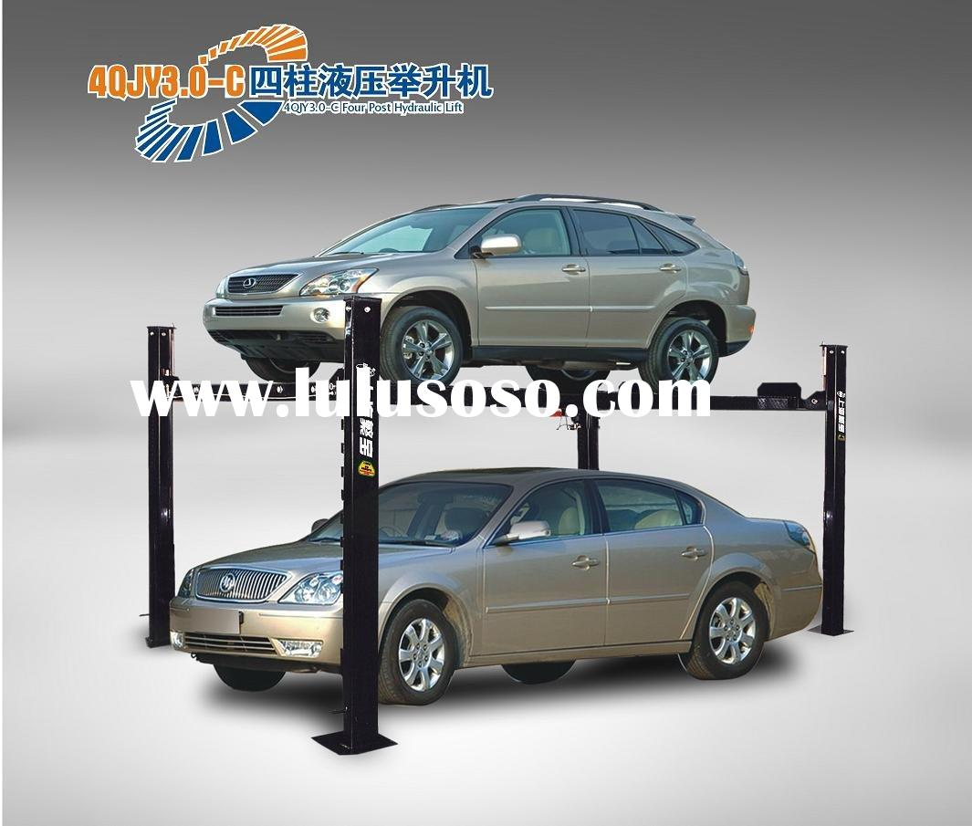 Four Post Hydraulic Car Parking System parking lift