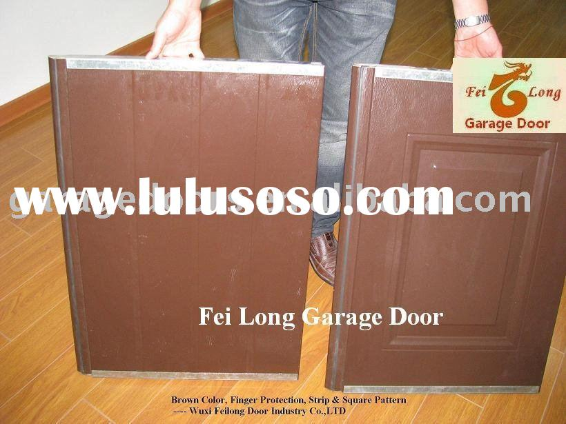 Garage Door Panel with Brown Colour --- CE & ISO Certificate