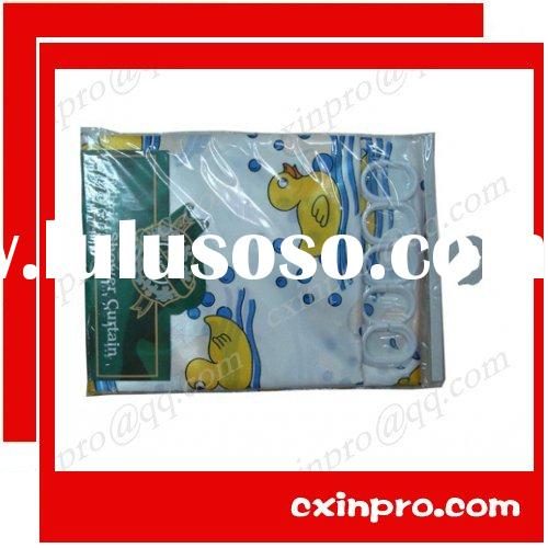 High Quality Cheap Fabric Shower Curtain