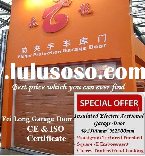 Sectional Garage Doors(Special Offer) --- European Union CE Quality Approved Sectional Door