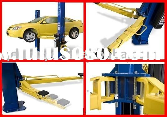 car lift-2 post; floor plate hydraulic lift