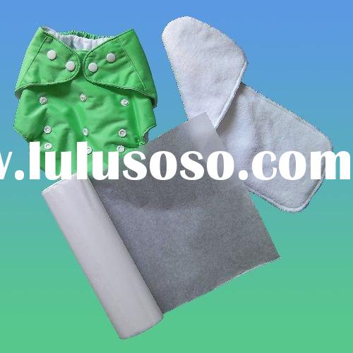 cloth baby diaper and diaper liner
