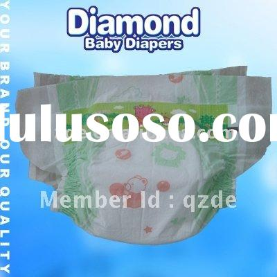 disposable grade a clothlike film baby nappy diaper(JHS015)