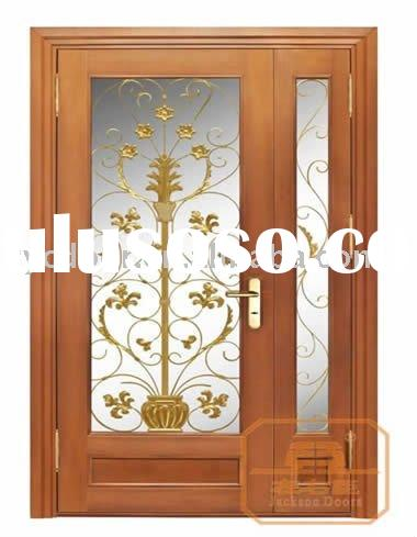Double main door design for sale price china for Main double door design