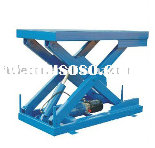 Hydro Lift System : Hydraulic scissor hoist dslp ce and iso for sale
