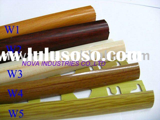 pvc tile trim wood color swatch