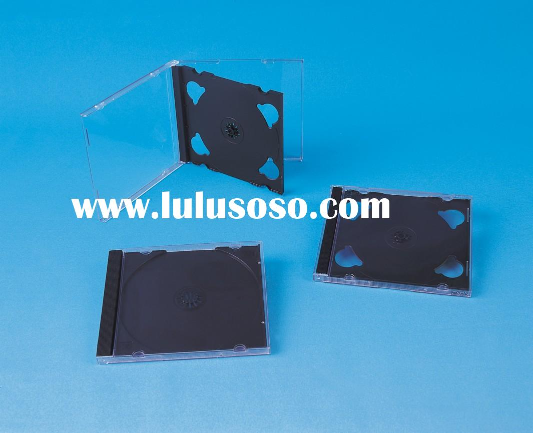 10.4MM CD CASE/CD BOX/CD COVER/JWEL CASE WITH BLACK TRA(YD-019)