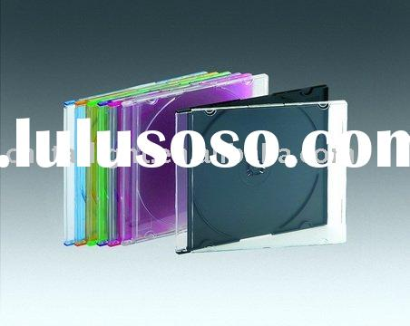 5.2mm Single CD Jewel Case with black/translucent/color tray