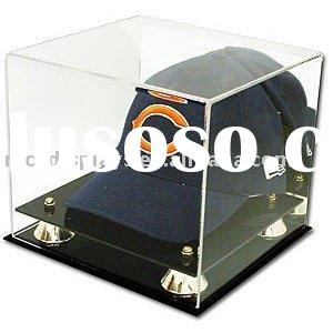 Acrylic Cap Logo Display Case