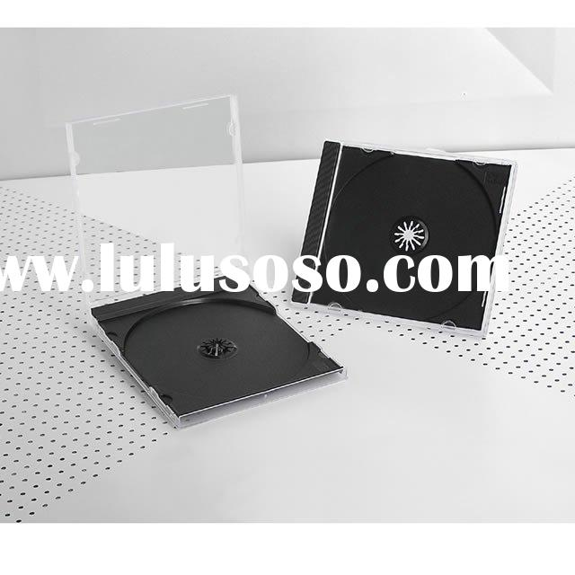 CD Jewel Case With Black Tray