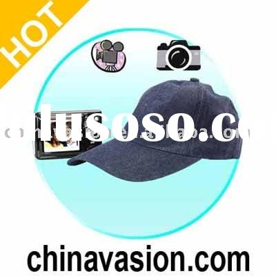 Hat Camera, Wireless Hat Hidden Camera with Portable Recorder
