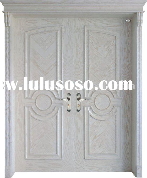 Solid Wood Veneer Doors Hollow Core Doors Solid Wooden Doors Interior Wooden Doors For Sale