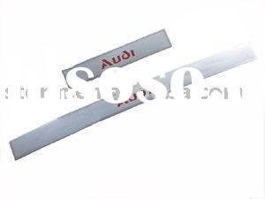 Stainless Steel Door Sill (RED LIGHT) For AUDI A4