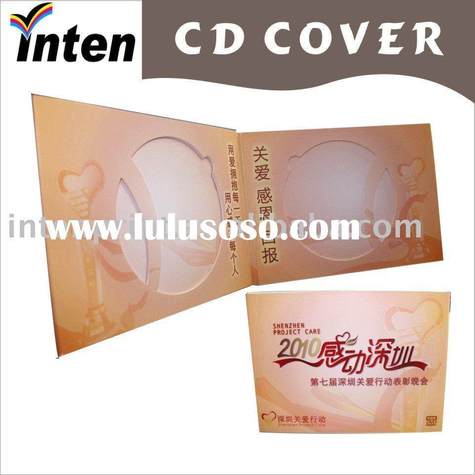 promotional paper CD cover