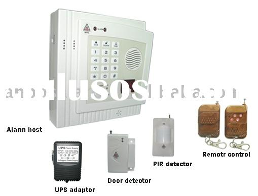 wireless home security burglar alarm system with motion sensor and door sensor