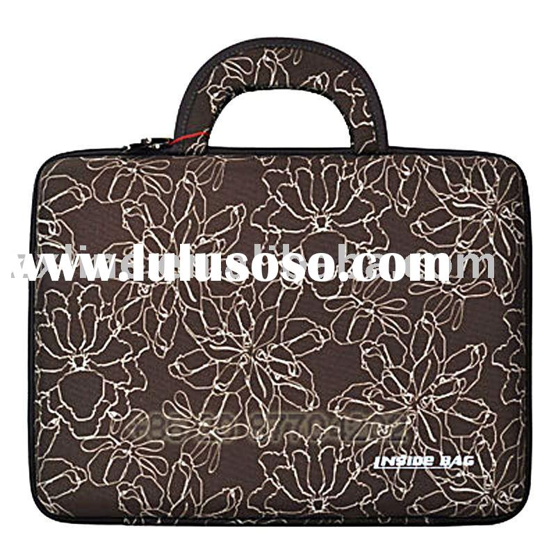 Brown Laptop Computer Bag Hard Case