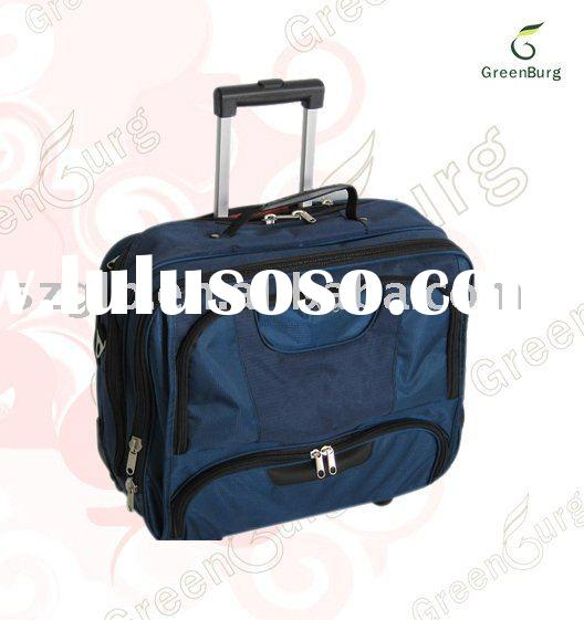 wheeled laptop bag,laptop bag,computer bag,trolley case,trolley luggage-2010 new style