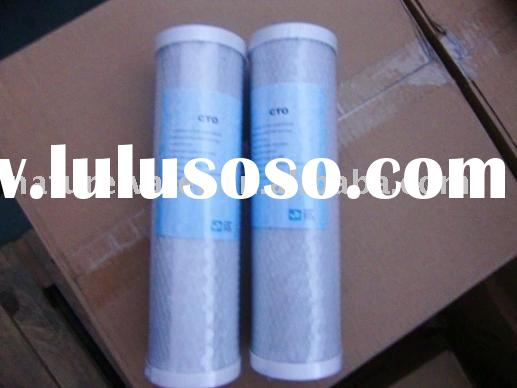 naturewater filter cartridge PP UDF GAC CTO KDF T33 POST CARBON
