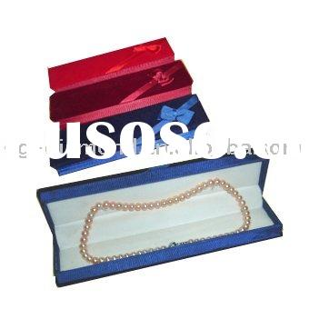 pearl necklace paper gift box