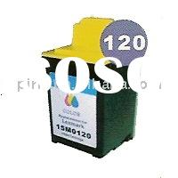 supply inkjet cartridge Lexmark 120 15M0120 tri-color compatible