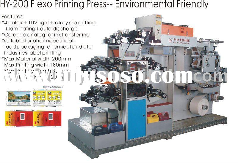 5UV Adhesive Label Flexo Printing Machine