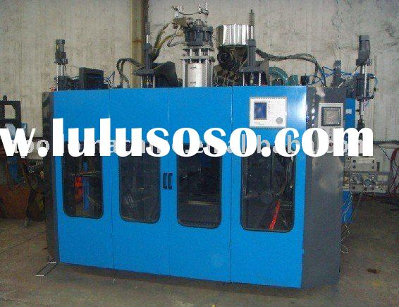 Automatic plastic blow moulding machinery