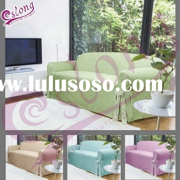 Canopy One-piece Stretch Fine Polyester Sofa Slipcover
