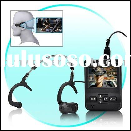 Head Mounted Mini Video Recorder Camera for Extreme Sports and Military/Tactical