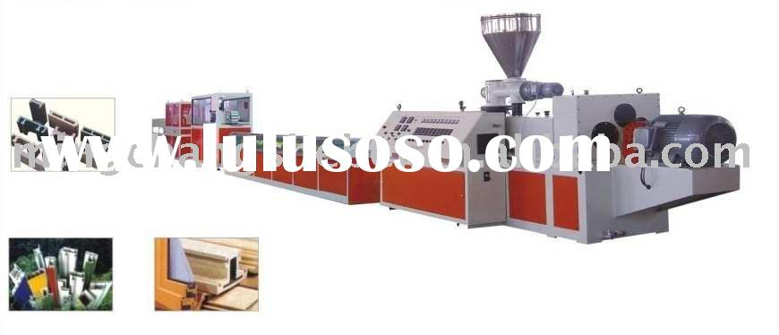 PVC Window plastic extrusion machine