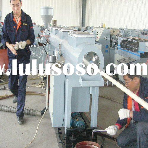 PVC electric wire plastic pipe machinery
