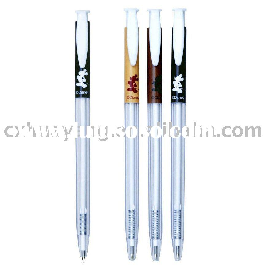 School office Click ball pen /retractable ball pen BP-1043