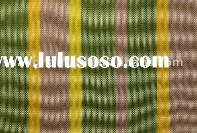 Woven PVC coated polyester fabric for beach chair