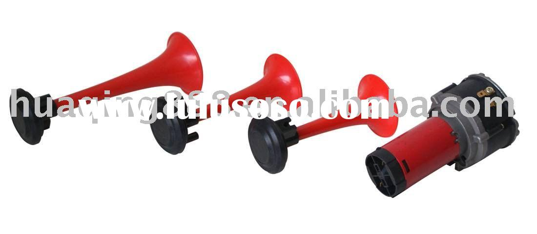electric  horn  with red color