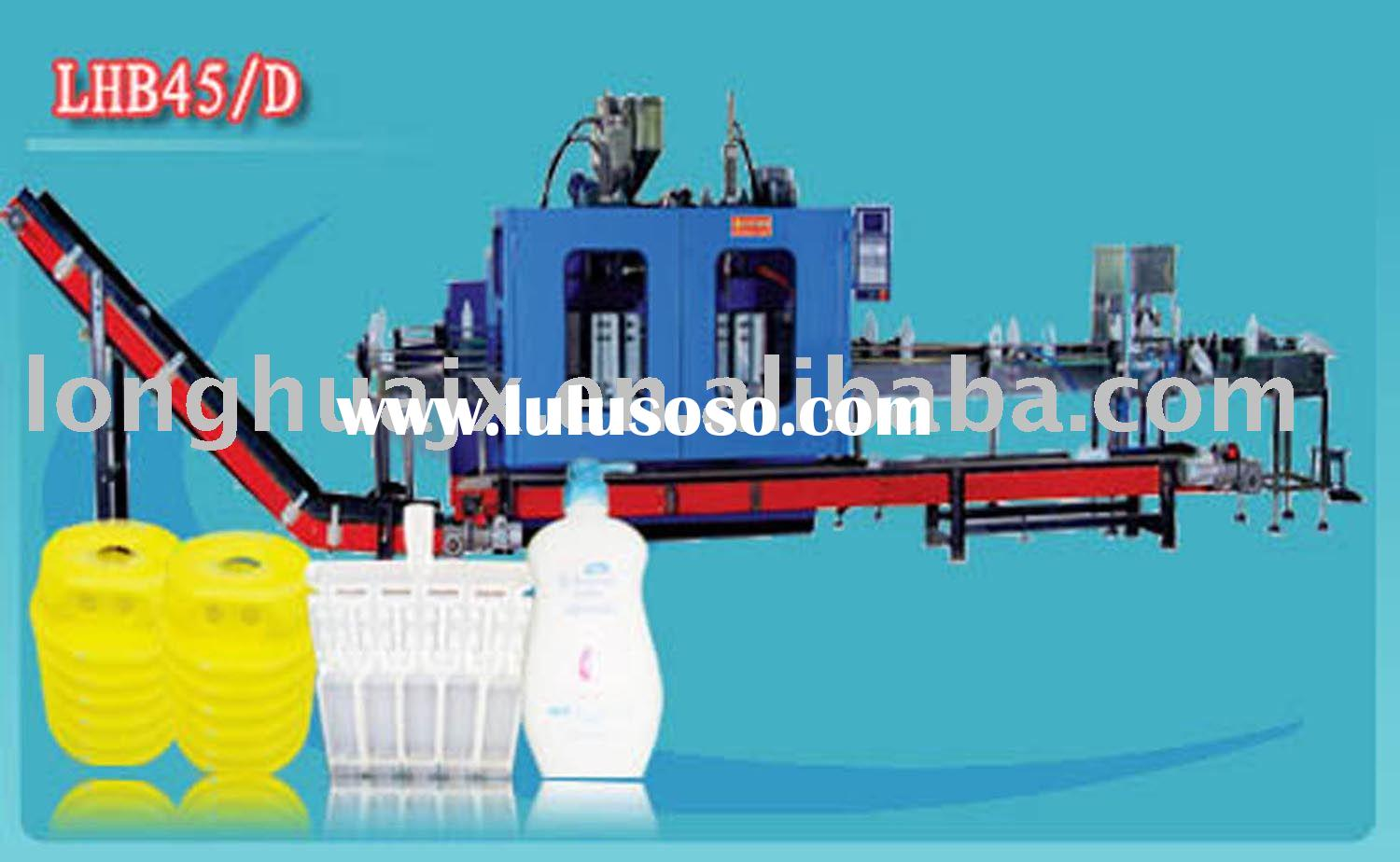 fully automatic HDPE blow moulding machine