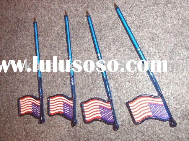 gifts promotion pen with national flag pattern