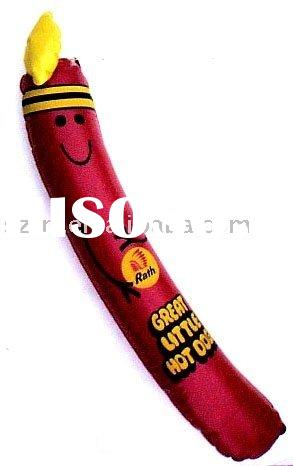 inflatable hot dog promo,Inflatable pvc hot dog,Inflatable advertising hot dog