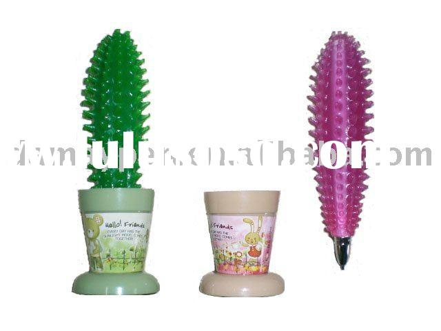 novelty ballpoint pen with cactus shaped
