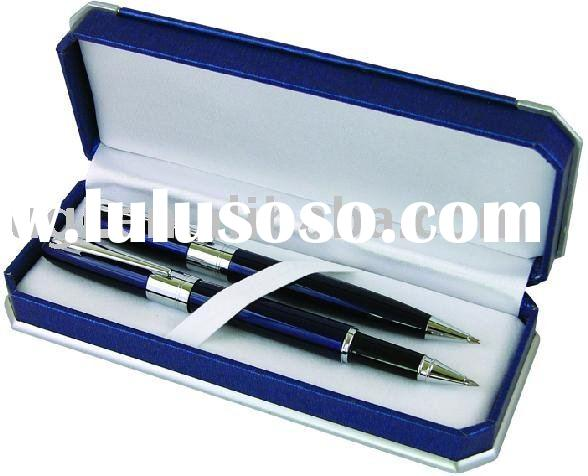 pen  box. metal pen box. metal packaging box.leatherette paper box