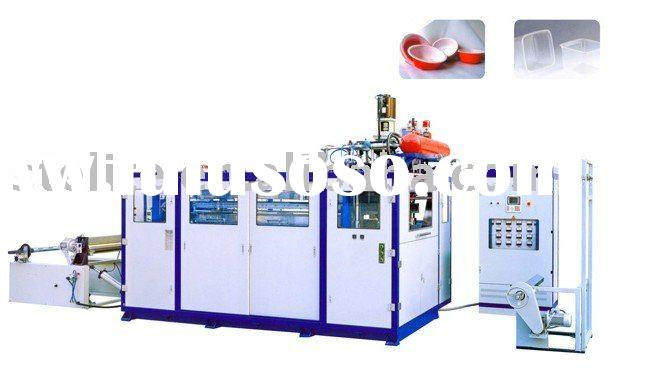 plastic cup thermoforming machinery