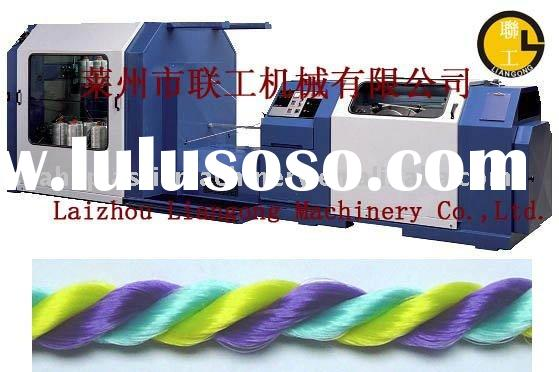 plastic rope making machinery