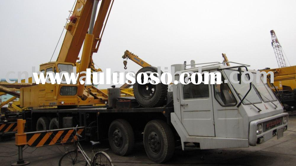 used lifting machinery 40TON for sale(construction crane used truck crane)