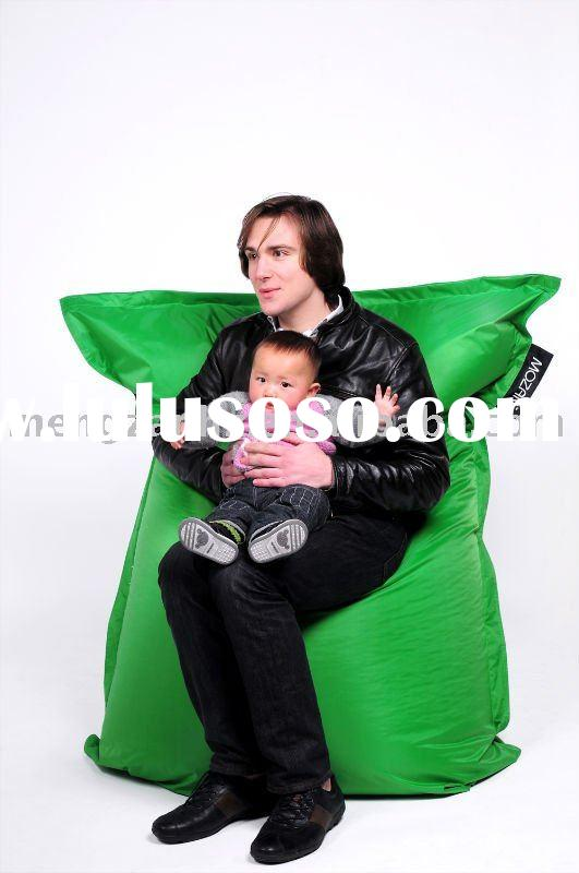 water-repellent large bean bag furniture for living room with removable liner
